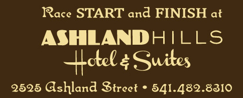 Oregon Chocolate Festival Race Start and Finish at Ashland Hills Hotel & Suites